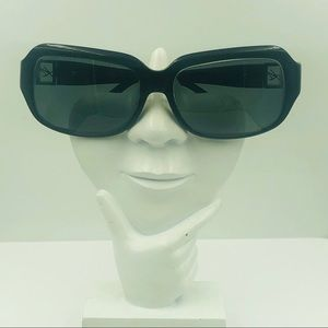 Kenneth Cole Reaction Black Oval Sunglasses Frames